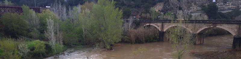Les pluges intenses deixen 106 lm2 a Castellbell i el Vilar.