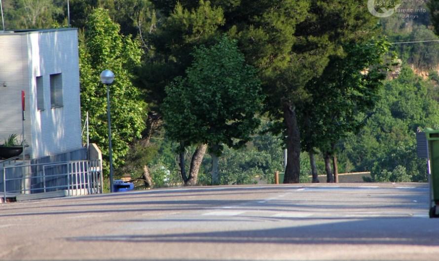 Asfaltaran un tram malmès de l'Avinguda Catalunya, a Castellbell i el Vilar.