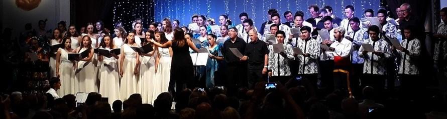 Les veus mexicanes posen la cirereta al concert intercoral del 39è Festival Internacional Cant Coral Catalunya Centre. Text I fotos: Pere Sánchez