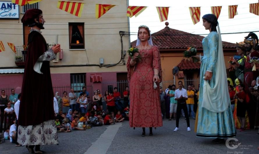 Els gegants de Monistrol de Montserrat tornen a sortir al carrer.