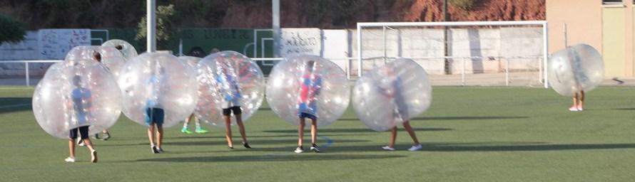 Atenció!! Novetat: Futbol Bombolla a Castellbell i el Vilar!!!!