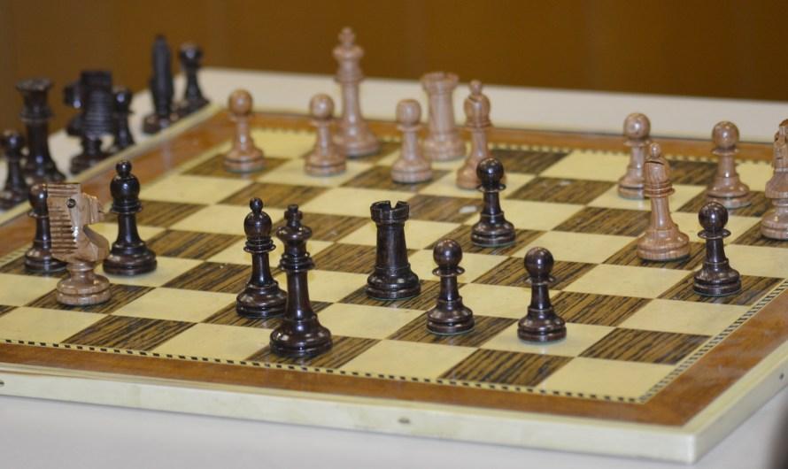 Escacs amb el gran Oscar de la Riva.