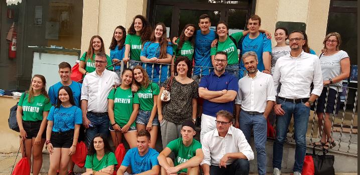 Els joves voluntaris italians ja són a Castellbell i el Vilar.