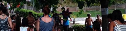 Els nens i nenes gaudeixen de la jornada de la FM de Castellbell i el Vilar, dedicat a Mèxic.