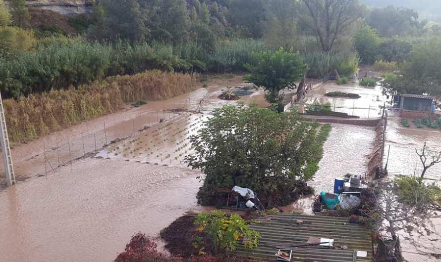 Els errors que han provocat el desbordament del canal del Burés.