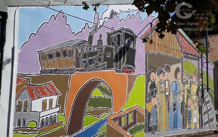 Mural Plaça Cremallera
