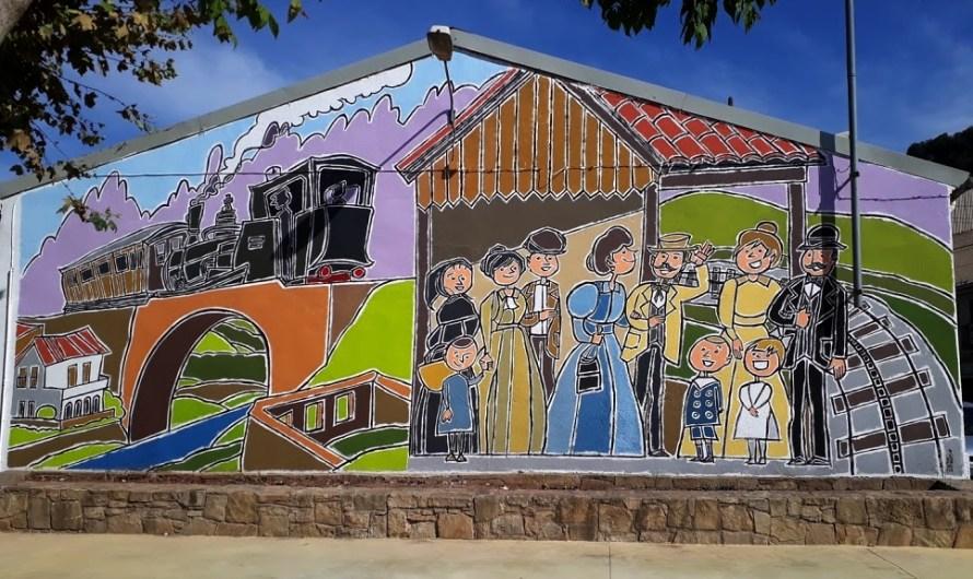El mural de la plaça del Cremallera, acabat!!!!!