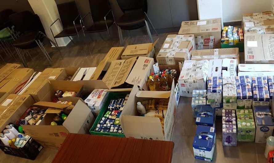 Castellbell i el Vilar recapta 460 kilos de menjar, destinats al banc d'aliments.