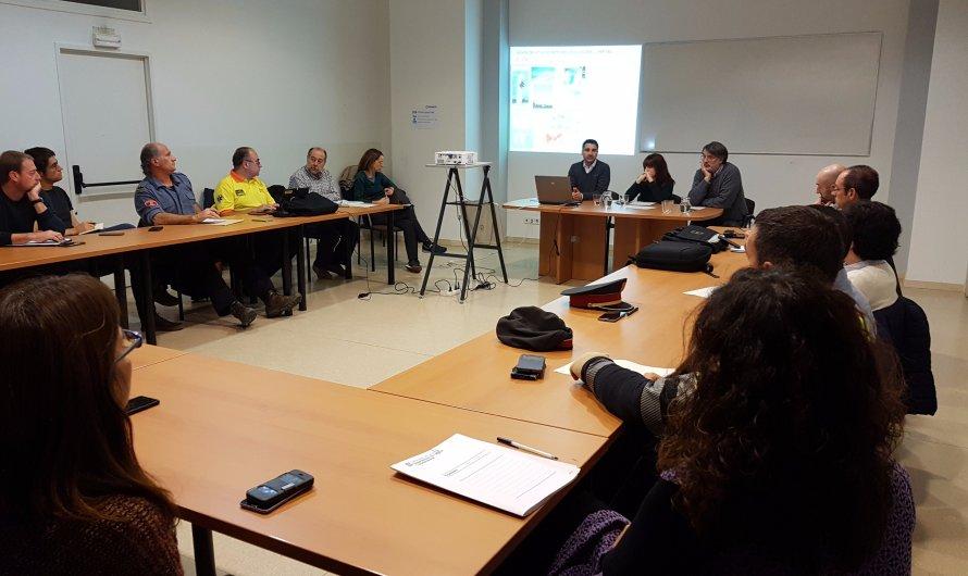 La Generalitat a la Catalunya Central impulsa la coordinació operativa en casos de nevades
