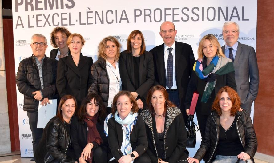 Rafel Pérez i el Servei d'Oncologia d'Althaia, premis a l'Excel·lència Professional del Col·legi de Metges de Barcelona.