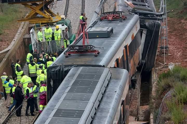 El veí de Castellbell, que va morir al fatídic accident de tren, a Vacarisses, anava assegut.