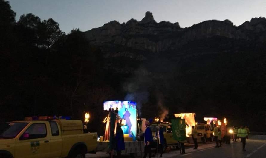 Monistrol de Montserrat viu una nit molt màgica.