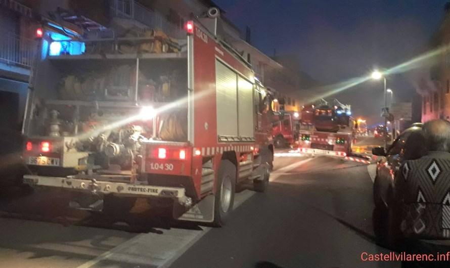 Mor una dona en l'incendi d'una casa a Sant Joan de Vilatorrada