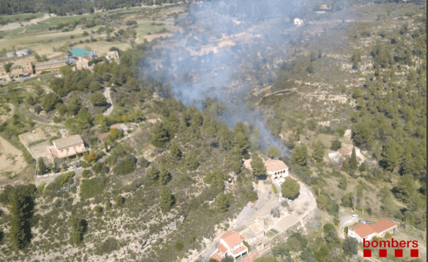 Petit foc a Marganell