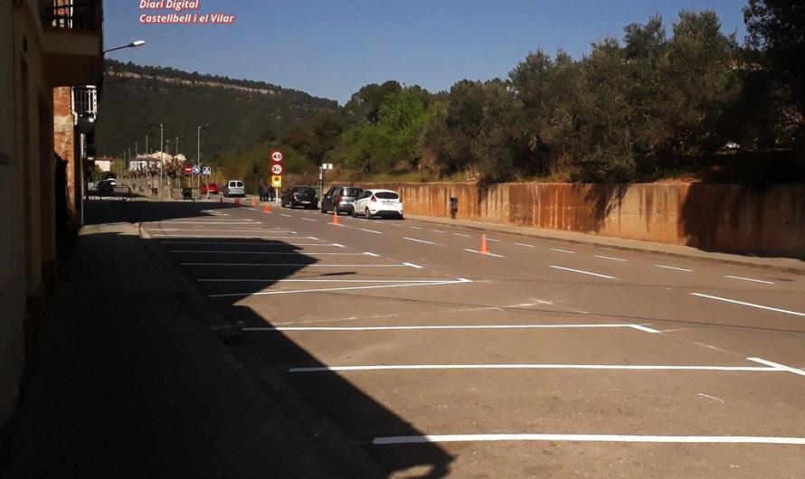 Apareixen diversos cotxes amb les llunes trencades a Castellbell i el Vilar