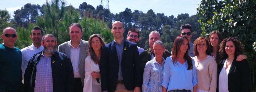 Junts per Castellbell i el Vilar presenta la seva candidatura, a les municipals de Maig 2019.