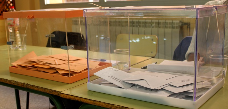 La Participació a les 6 de la tarda a Castellbell i el Vilar era el 61,40%