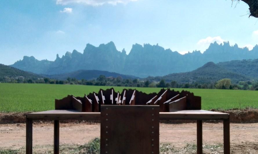 Castellbell i el Vilar habilita un nou punt d'observació de Montserrat a Sant Cristòfol