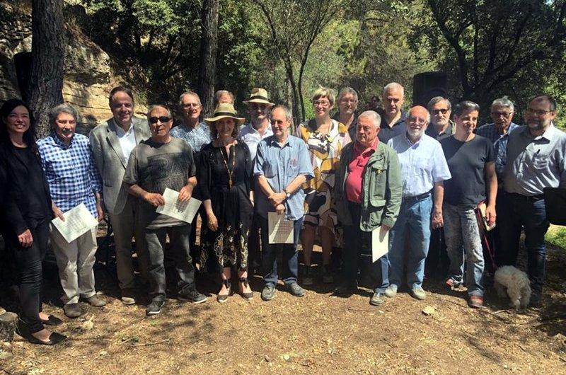 El Departament de Cultura homenatja els promotors de l'art de la pedra seca