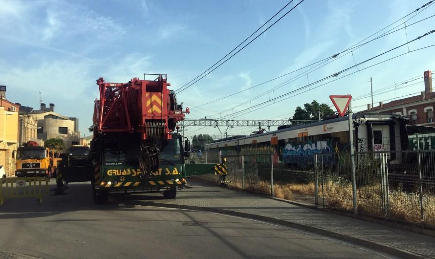 Els trens accidentats a Vacarisses i Castellgalí, són Retirats!!!