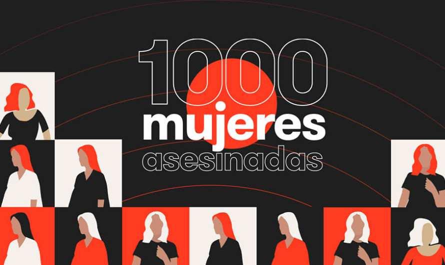 1000 dones assassinades.