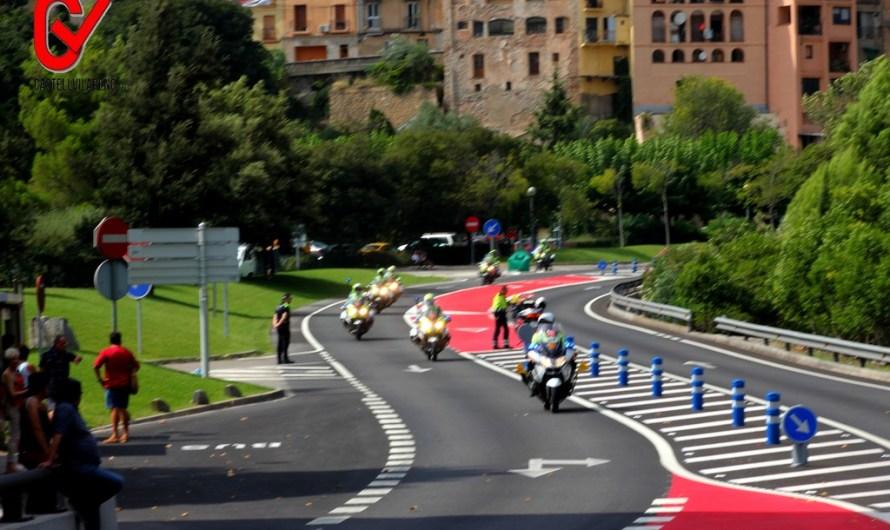 Incidències viàries, amb motiu del pas de la Volta ciclista per Castellbell i el Vilar.
