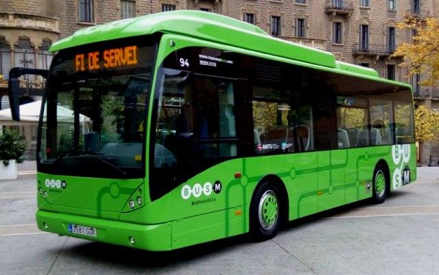 El Bus urbà de Manresa Costarà 1€ durant la setmana Europea de Mobilitat