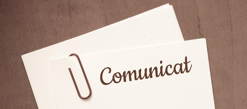 Comunicat important