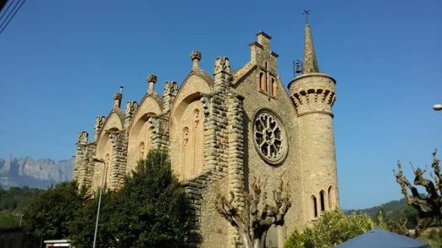 Per fi comencen les esperades obres de l'Església de la Bauma.
