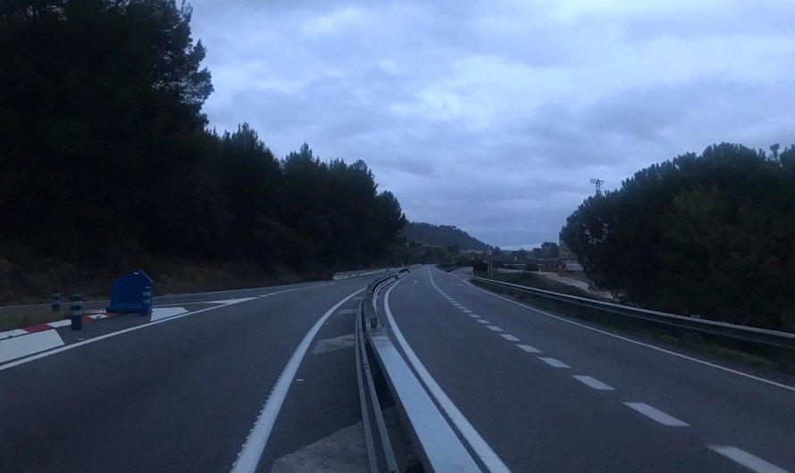 Reoberta la C-55 a Castellgalí per una esllavissada