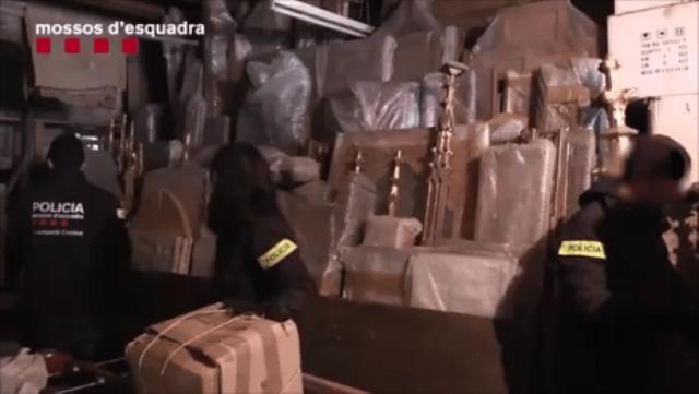 Els Mossos d'Esquadra han detingut l'excapellà de Sant Vicenç de Castellet