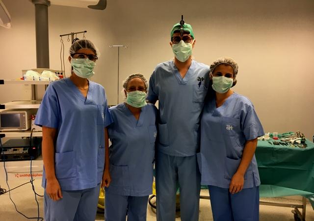 Althaia implanta per primera vegada una pròtesi personalitzada impresa en 3D
