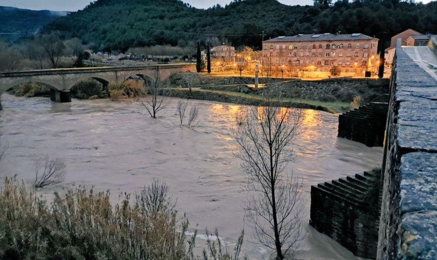 El riu Llobregat, es troba en estat de perill amb tendència decreixent