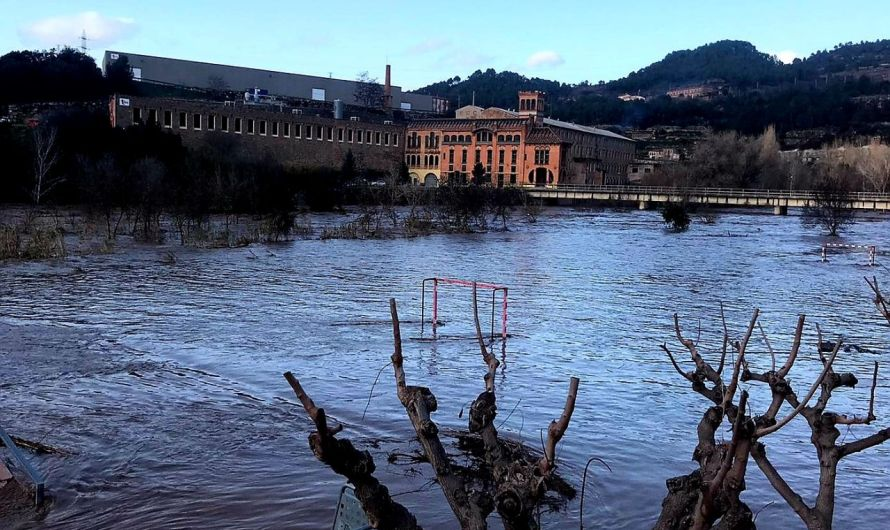 Risc de desbordament del Llobregat