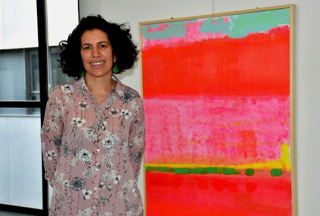 L'Hospital Sant Joan de Déu acull una exposició de pintures de la llevadora Elisenda Campreciós