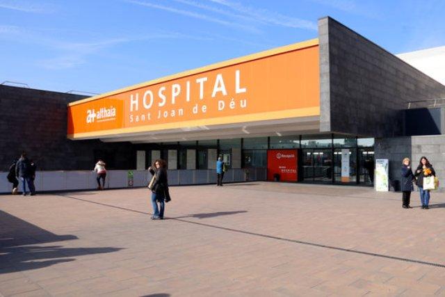 L'Hospital Sant Joan de Déu de Manresa registra més altes que ingressos.