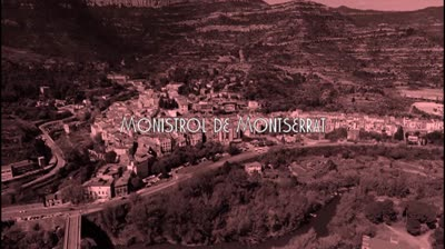 La vila de Monistrol de Montserrat crea el seu himne, en ple confinament.