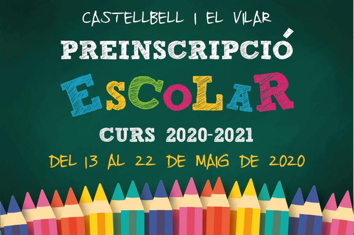 Aquest dimecres comencen els tràmits per a les preinscripcions escolars del curs 2020-2021