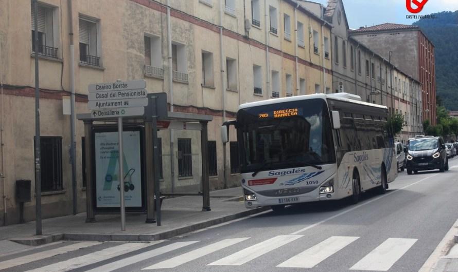 Prova pilot al Bages per donar a conèixer l'ocupació de viatgers de dues línies de bus interurbà