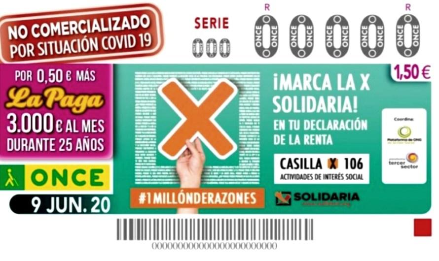 """L'ONCE arrenca el 15 de juny els seus sortejos de l'cupó, amb els seus venedors i venedores """"a peu de carrer"""""""