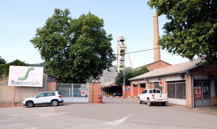 Iberpotash tanca la producció a la mina de Vilafruns