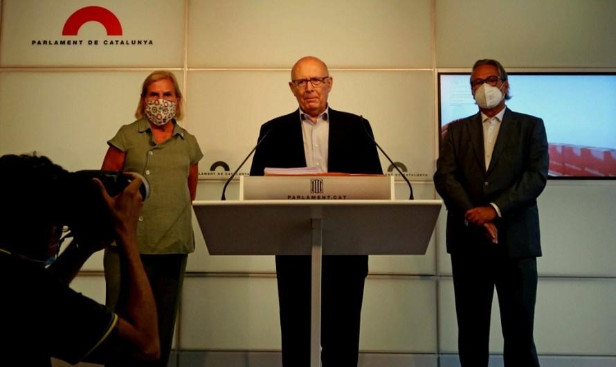 Els expresidents del Parlament presenten una petició d'indult per a Forcadell