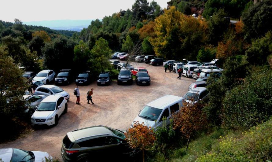 Cauen en picat les visites al monestir de Montserrat, però augmenten més d'un 50% els visitants al parc natural
