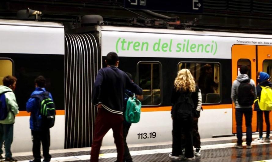 Ferrocarrils senyalitza la seva flota de 120 trens per fomentar el silenci