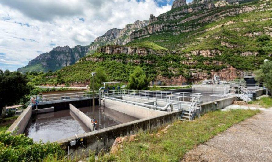 L'Agència Catalana de l'Aigua millora el rendiment de la depuradora de Monistrol de Montserrat