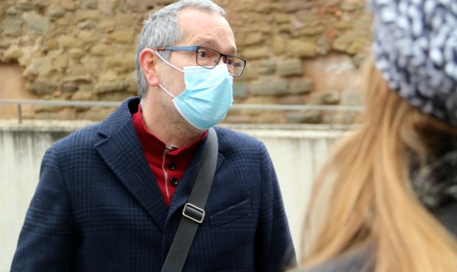 Jutgen un membre de la ultradreta per amenaçar al periodista manresà Pere Fontanals