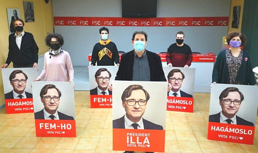 Els i les Socialistes del Bages, Berguedà i Solsonès donen el tret de sortida a la campanya