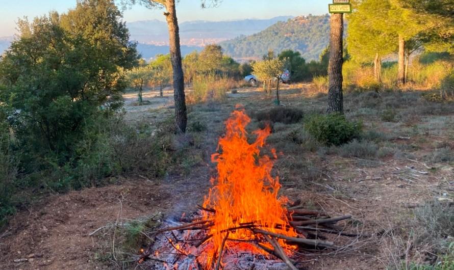 Comença la prohibició de fer foc al bosc, que s'allargarà fins al 15 d'octubre