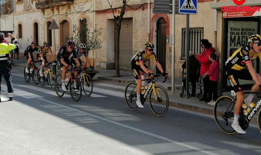 Així han ensenyat al món Castellbell i el Vilar l'etapa de la Volta a Catalunya.