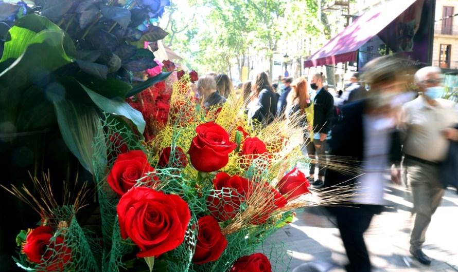 Titulars de premsa per a dissabte 24 d'abril: La diada de Sant Jordi plasma les ganes de normalitat postcovid